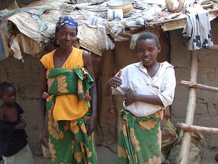 Mom & Daughter in Burundi