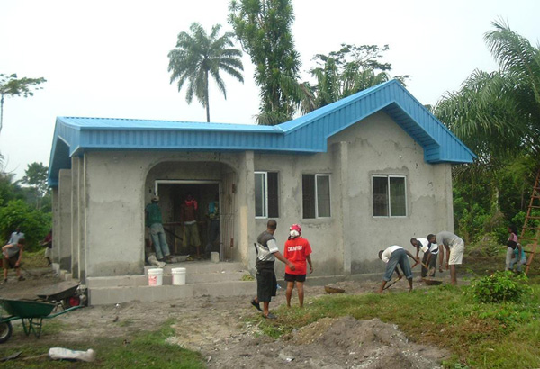 Niger Delta Friendship Library Under Construction